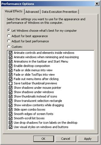 Windows Choose