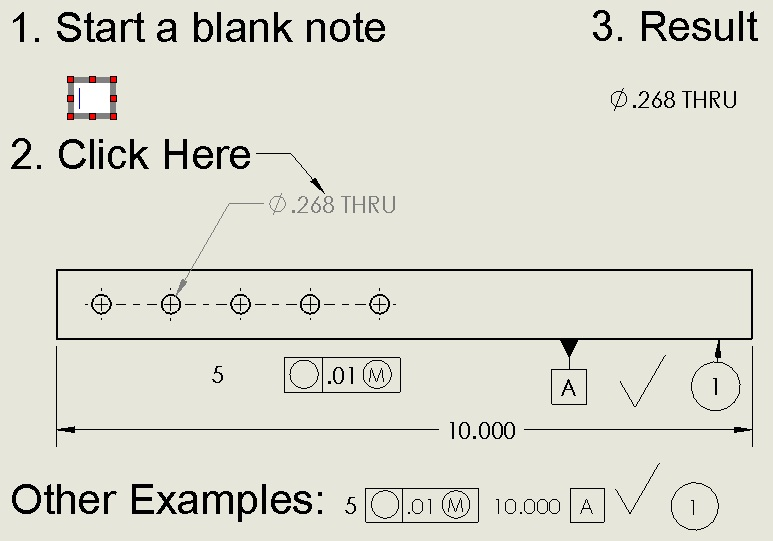 Parametric note