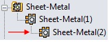 SheetMetal Multibody Parts 3