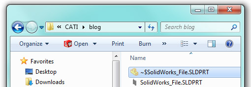 SolidWorks_Temporary_File