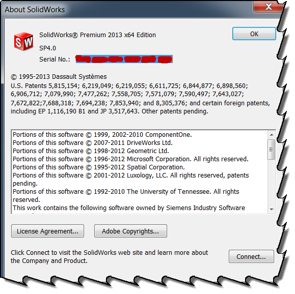 solidworks serial number check
