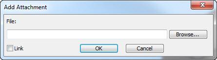 Add attachment file window