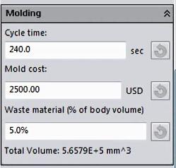 Cast mold info