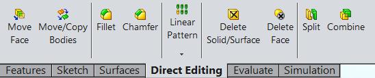 Direct editing