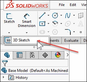 Super Easy 3D Weldment Sketch in SOLIDWORKS 2016 - Computer Aided