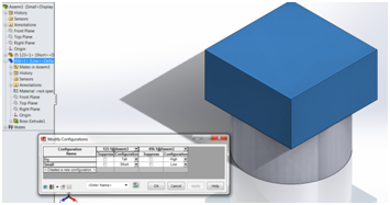 Design Table Solidworks when you edit a design table you can create rows above and columns to the left of the family cell the example below is a valid design table as long as Solidworks Design Table