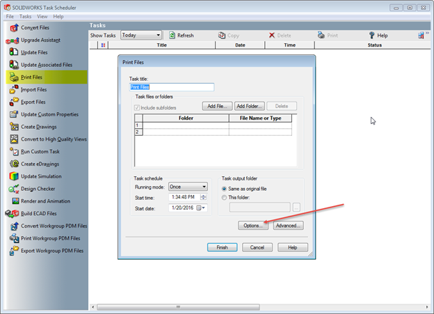 one of the best enhancements is that you can now choose to use a documents saved printer settings for each task