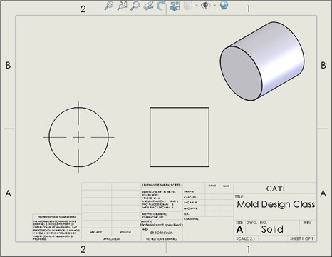 Automatically Inserting Centerlines within a SOLIDWORKS Drawing ...