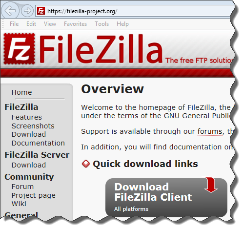 FileZilla_Site