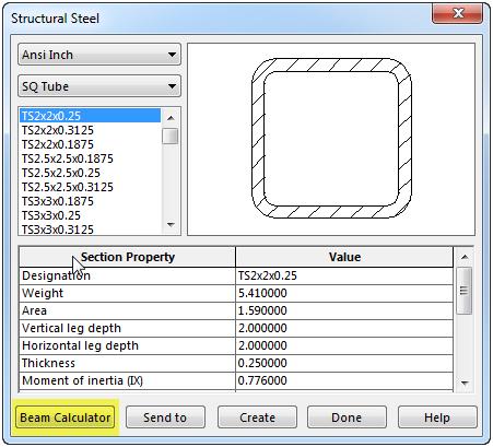 Steel Beam Calculator