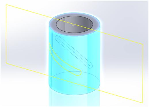 Solidworks slot in cylinder je de poker en ligne