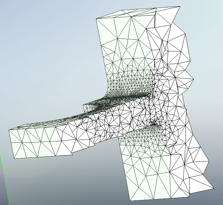 Mesh sectioning