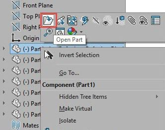 Opening up multibody step files and saving them as assemblies and individual parts_Step5B