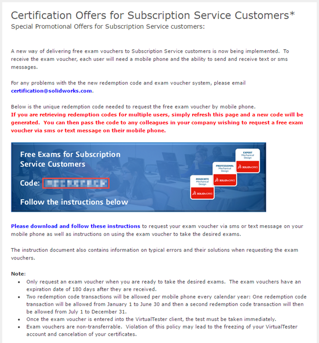 Free SOLIDWORKS Certification for Subscription Service Customers ...